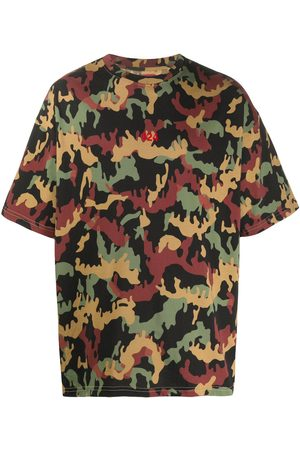 424 FAIRFAX Logo camouflage print T-shirt