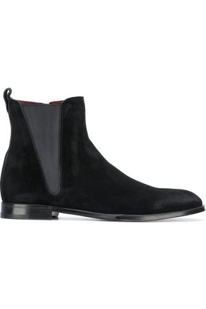 Dolce & Gabbana Zip-up suede ankle boots