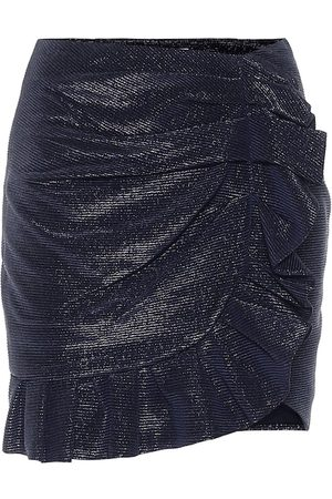 JONATHAN SIMKHAI Minifalda Azalea metalizada