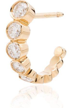 SOPHIE BILLE BRAHE Pendiente Boucle en oro amarillo de 18kt con diamantes