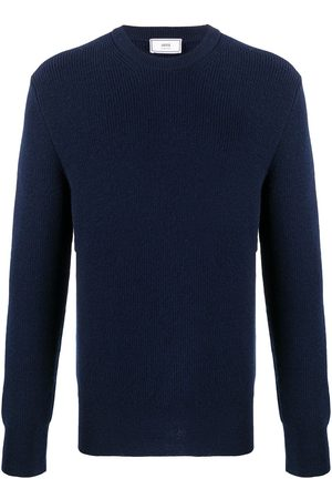 Ami Hombre Jerséis y suéteres - Jersey con cuello redondo