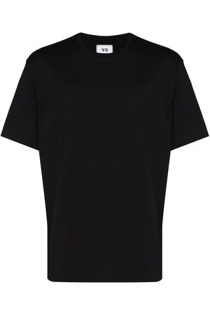 Y-3 Camiseta estilo jersey con logo