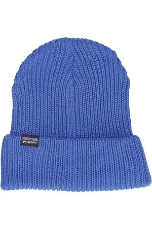 Patagonia Hombre Gorros - Fishermans Rolled Beanie azul