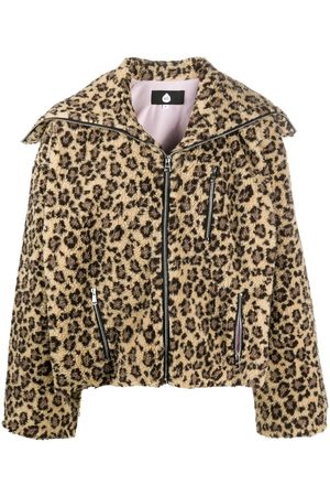 DUOltd Chaqueta con estampado de guepardo