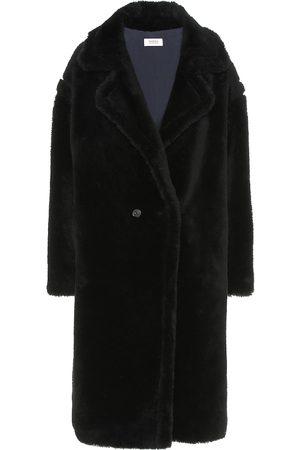 YVES SALOMON Meteo abrigo de lana