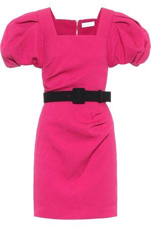 Rebecca Vallance Vestido corto Andie con cinturón