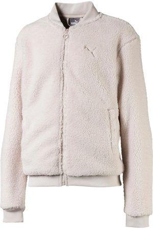 Puma Jersey - Felpa zip rosa 580226-23 para niña