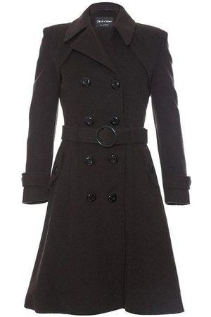 De la creme Gabardina Abrigo largo de lana y cachemira. para mujer