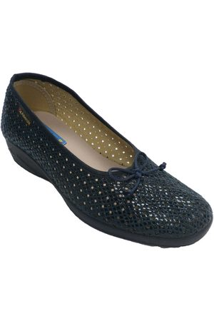 Made In Spain 1940 Mujer Bailarinas - Pantuflas Zapatilla mujer calado tipo manoletinas para mujer