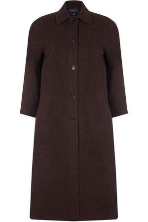 David Barry Mujer Abrigos largos - Abrigo Abrigo largo de invierno con mezcla de lana y cachemir para mujer