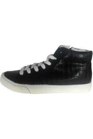 LES PETITES BOMBES Mujer Zapatillas deportivas - Zapatillas altas baskets montantes Avelina Noir Croco para mujer