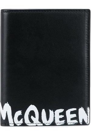 Alexander McQueen Tarjetero con motivo McQueen