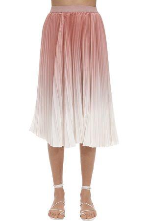Agnona | Mujer Falda Plisada Degradada 40