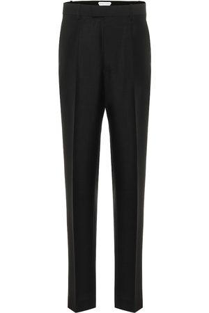 Bottega Veneta Pantalones ajustados tiro alto