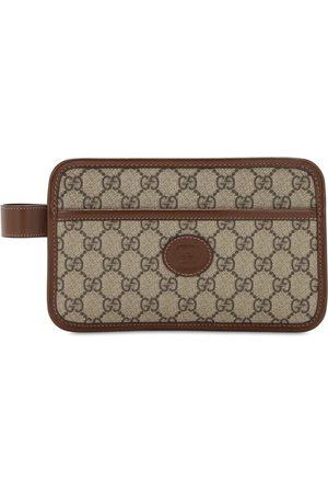"""Gucci   Hombre Bolso Mini De Lona Con Logo """"gg"""" Unique"""