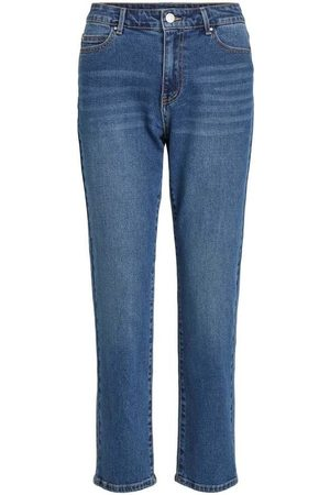 Vila Jeans VISOMMER RWRE 7/8 STRAIGHT JEANS para mujer