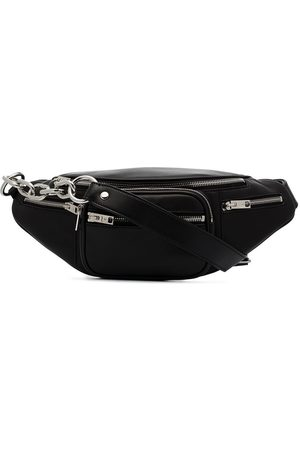 Alexander Wang Black Attica leather belt bag