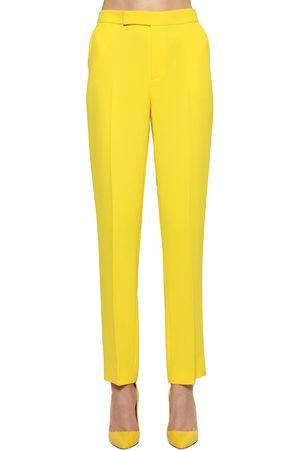 Ralph Lauren | Mujer Pantalones De Crepé De Cady Con Pierna Recta 2