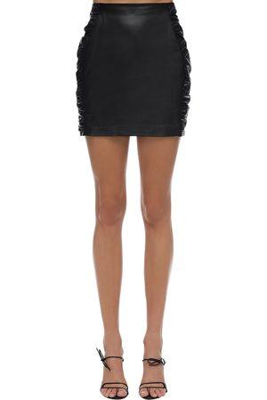 Zeynep Arcay   Mujer Mini Falda De Piel 0