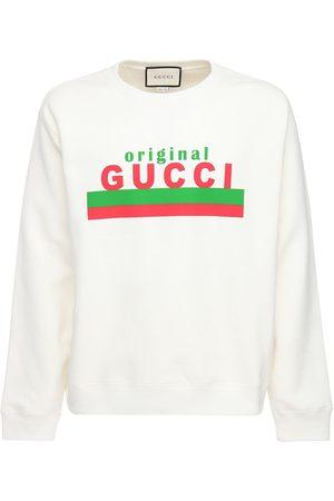 Gucci   Hombre Sudadera De Algodón Con Estampado Original Xs