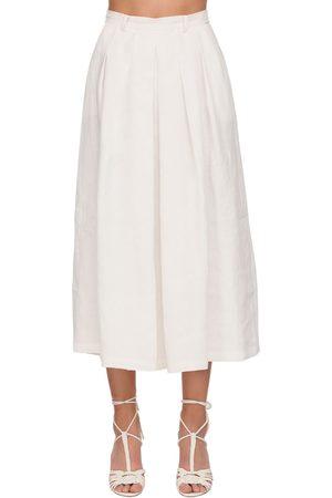 Ralph Lauren | Mujer Falda Pantalón De Lino 2