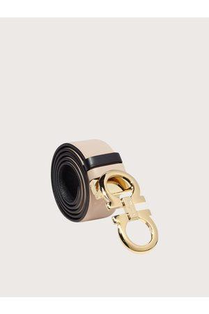 Salvatore Ferragamo Mujer Cinturón Gancini ajustable y reversible