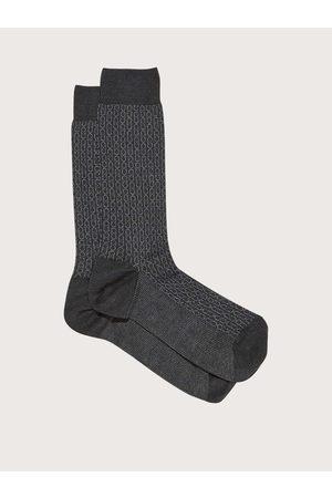 Salvatore Ferragamo Hombre Corbatas y corbatín - Hombre Calcetines de altura media Gancini