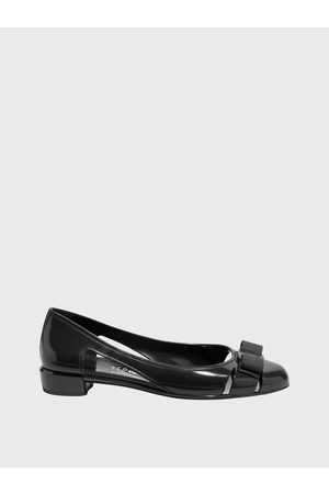 Salvatore Ferragamo Mujer Zapatos Bailarina con lazo Vara Talla 34.5
