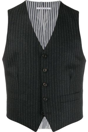 Thom Browne Hombre Chalecos - Chaleco a rayas