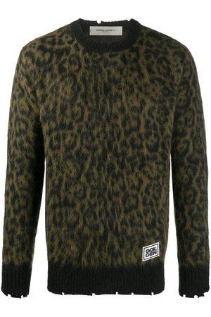 Golden Goose Jersey con estampado de leopardo