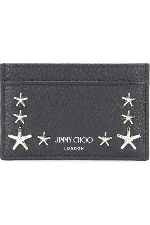 Jimmy Choo Tarjetero con apliques de estrellas