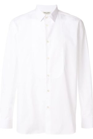 Saint Laurent Camisa clásica de manga larga