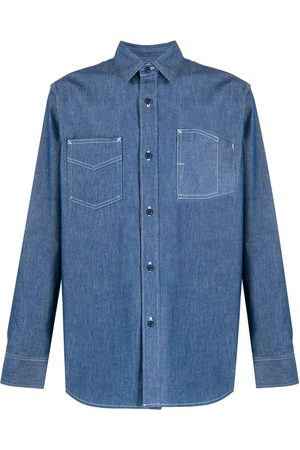 Fumito Ganryu Button denim shirt