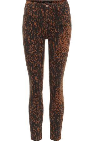 J Brand Mujer Cintura alta - Jeans skinny Alana de tiro alto