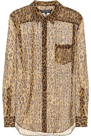JUNYA WATANABE Camisa con estampado de leopardo