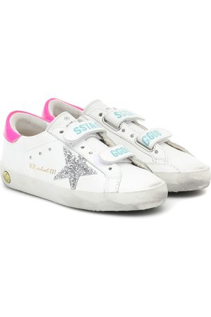 Golden Goose Zapatillas Old School de piel