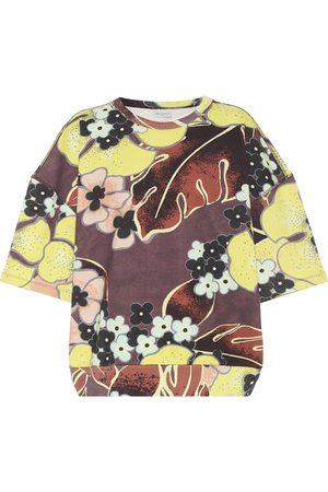 DRIES VAN NOTEN Camiseta de algodón floral
