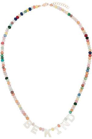 Roxanne First Be Kind 14kt rose gold jade necklace