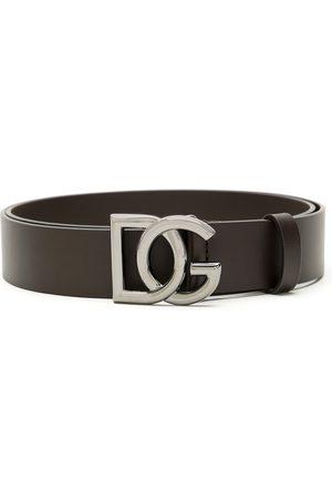 Dolce & Gabbana Cinturón con hebilla y placa del logo