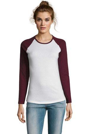 Sols Camiseta manga larga MILKY LSL SPORT para mujer