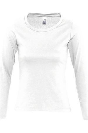 Sols Camiseta manga larga MAJESTIC COLORS GIRL para mujer