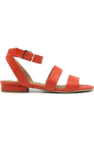 Nae Vegan Shoes Sandalias Gatria Coral para mujer