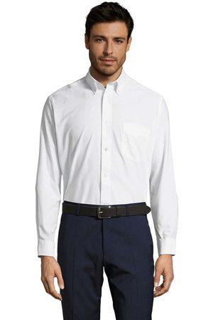 Sols Camisa manga larga BOSTON STYLE OXFORD para hombre