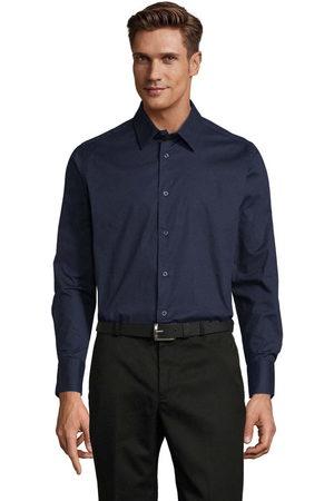 Sols Camisa manga larga BRIGHTON STRECH para hombre