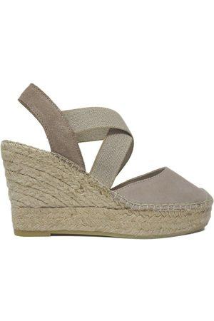 Vidorreta Zapatos Bajos Cuña 13400 Piedra para mujer