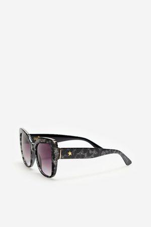 Cortefiel Gafas de sol shiny con glitter starlite