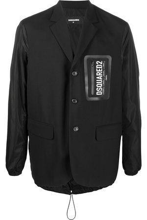 Dsquared2 Contrast sleeve branded blazer