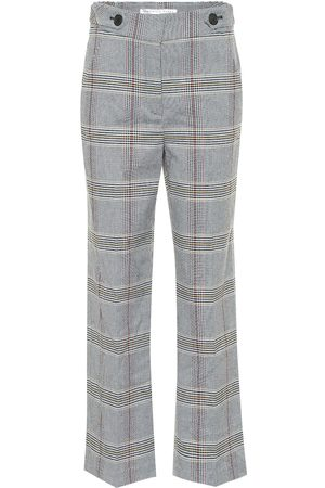 VERONICA BEARD Pantalones Isley mezcla de algodón