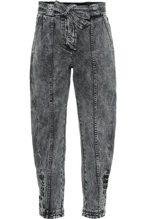 ULLA JOHNSON Jeans tapered Carmen de tiro alto