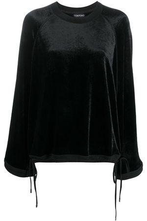 Tom Ford Jersey con dobladillo con cordones